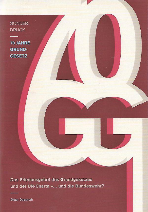 Cover 70 Jahre Grundgesetz